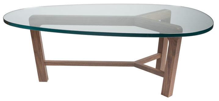 Coffee table by Eve Fineman Design