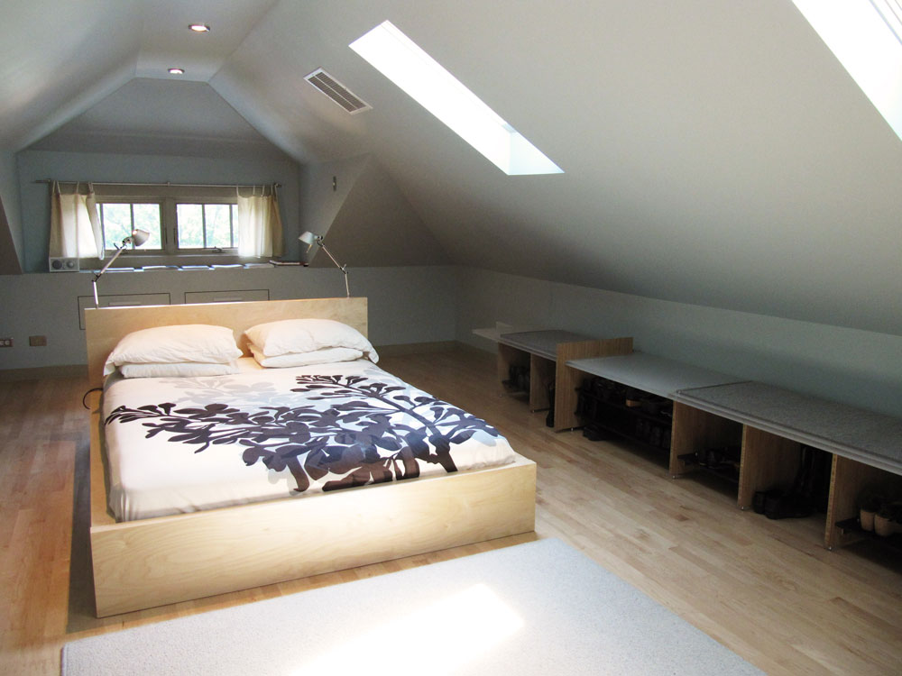 attic loft bedroom ideas - Mayfair Bungalow