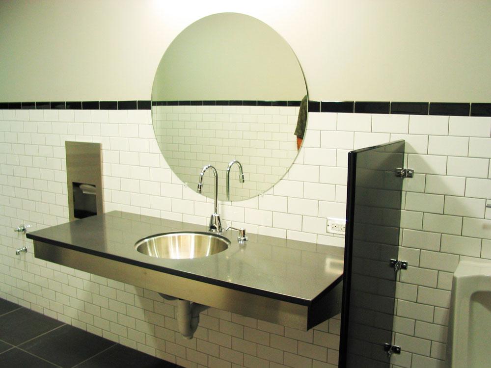 Commercial Bathroom Eve Fineman Design Llc