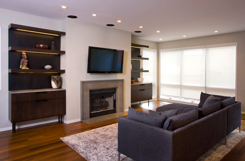 Lakeview Single Family - Fireplace Surround